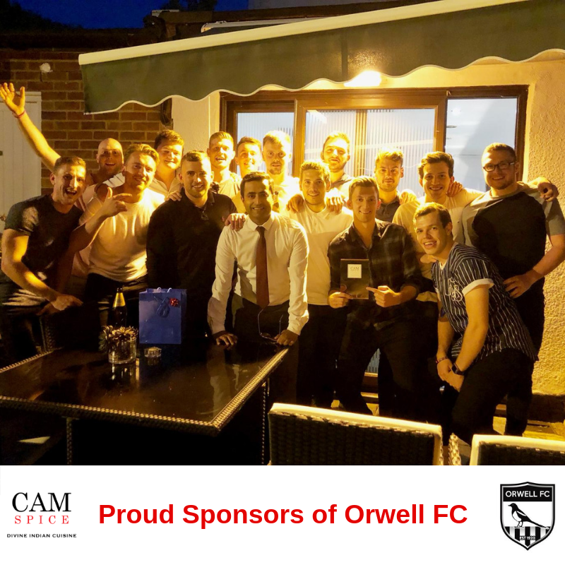 Cam Spice Sponsors Orwell FC